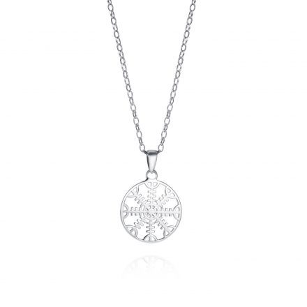 Helm of Awe Sterling Silver Necklace With 2cm Charm