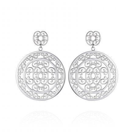 Sterling Silver Cocktail Earrings