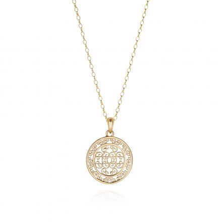 Baron Yellow Gold Pendant Necklace