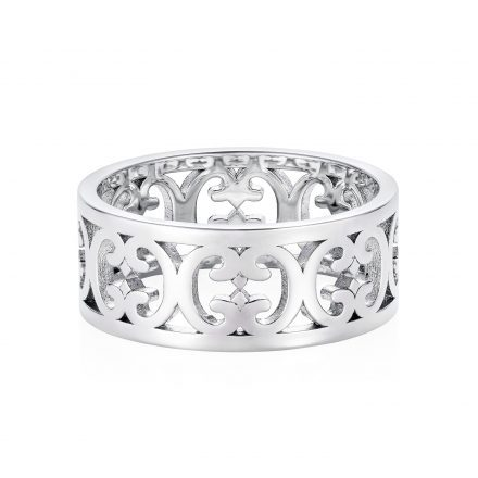 Sterling Silver Baron Pattern Ring