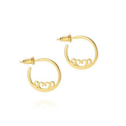 Baron Mini Hoops – 18K Gold Plated