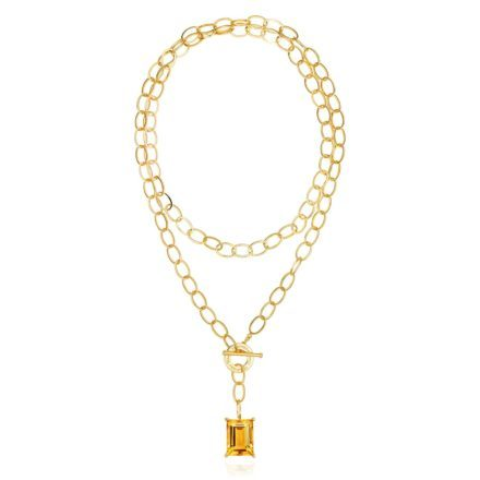 Baron 18K Gold Plated Necklace