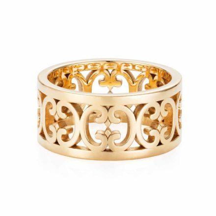 14K Gold Baron Ring