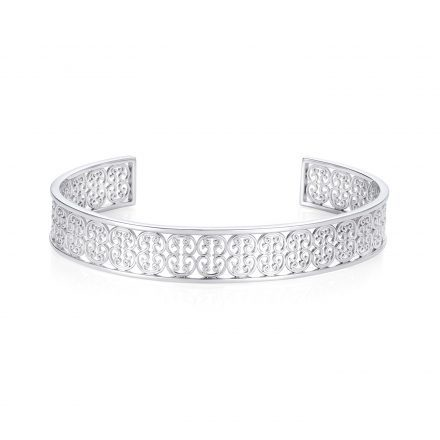 Sterling silver Baron bangle